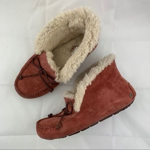 UGG Alena Moccasins in Spice Red Size 7